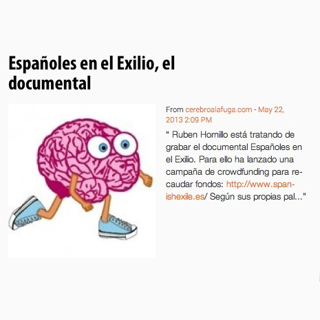 Cerebro a la fuga