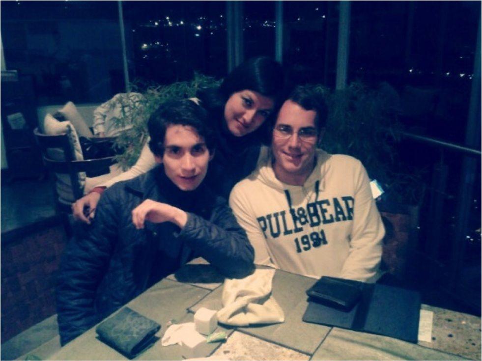 Enrique y dos amigos