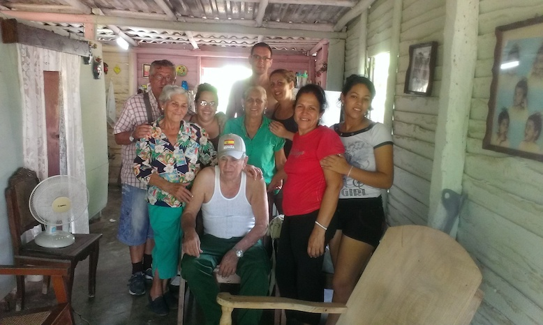 Familia de Daima en Cuba
